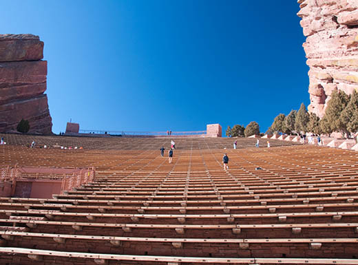 Red Rock Ampitheater in Denver Colorado