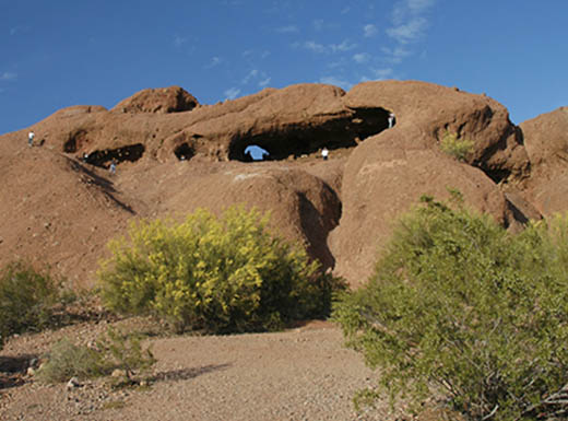 Hole-in-the-Rock at Phoenix's Papago Park
