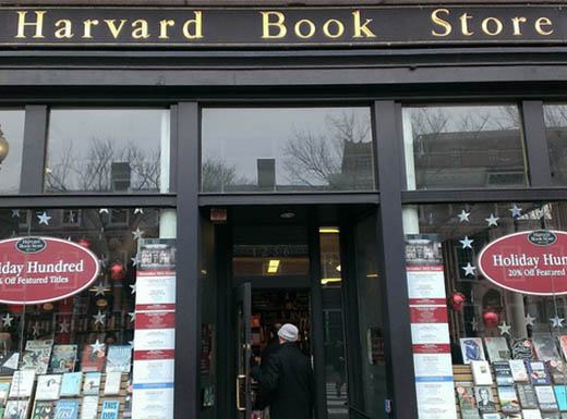 Harvard Bookstore in Cambridge, Massachusetts